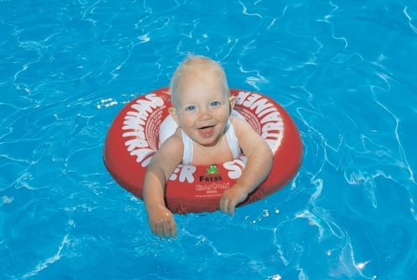 """Надувной круг для обучения плаванию SWIMTRAINER """"Classic"""" красный"""